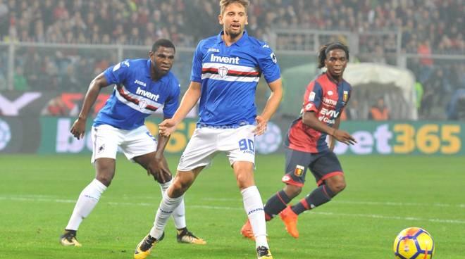 Genoa Vs Sampdoriao Serie A 12° Giornata