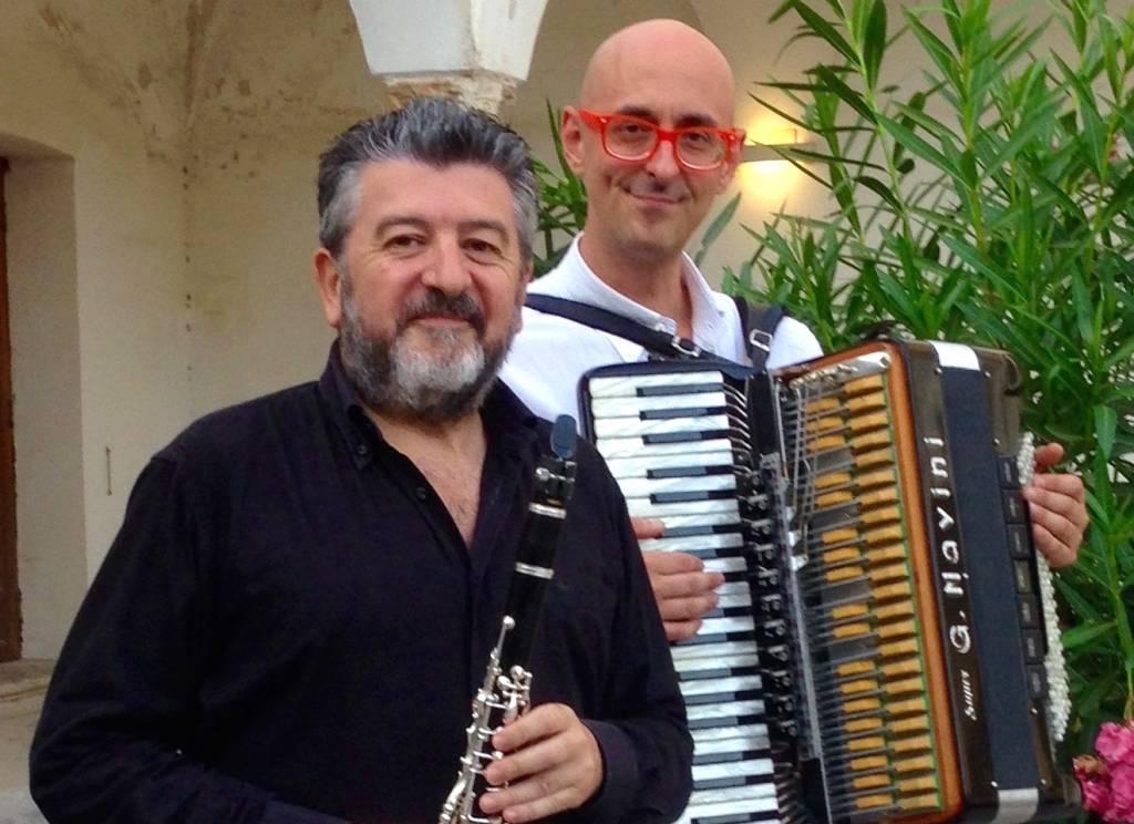 Giovanni Lanzini clarinettista e Samuele Luti fisarmonicista
