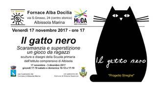 Il gatto nero Fornace Alba Docilia mostra
