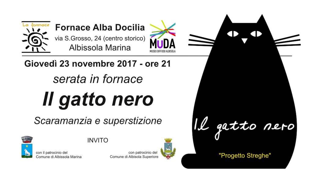 Il gatto nero Fornace Alba Docilia serata