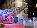 incendio appartamento via venezia