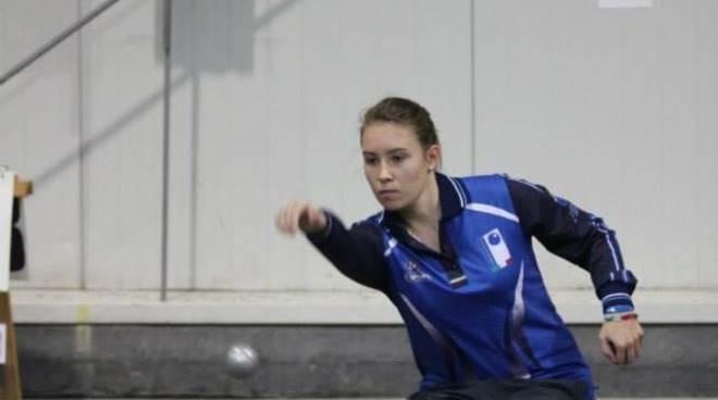 Jessica Rattenni nazionale bocce petanque Alassio