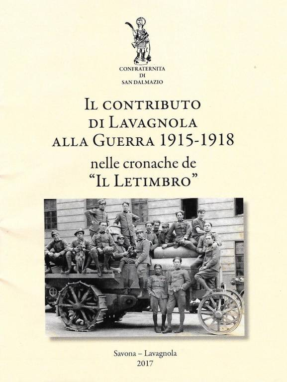 Libro Il contributo di Lavagnola alla guerra 1915-1918