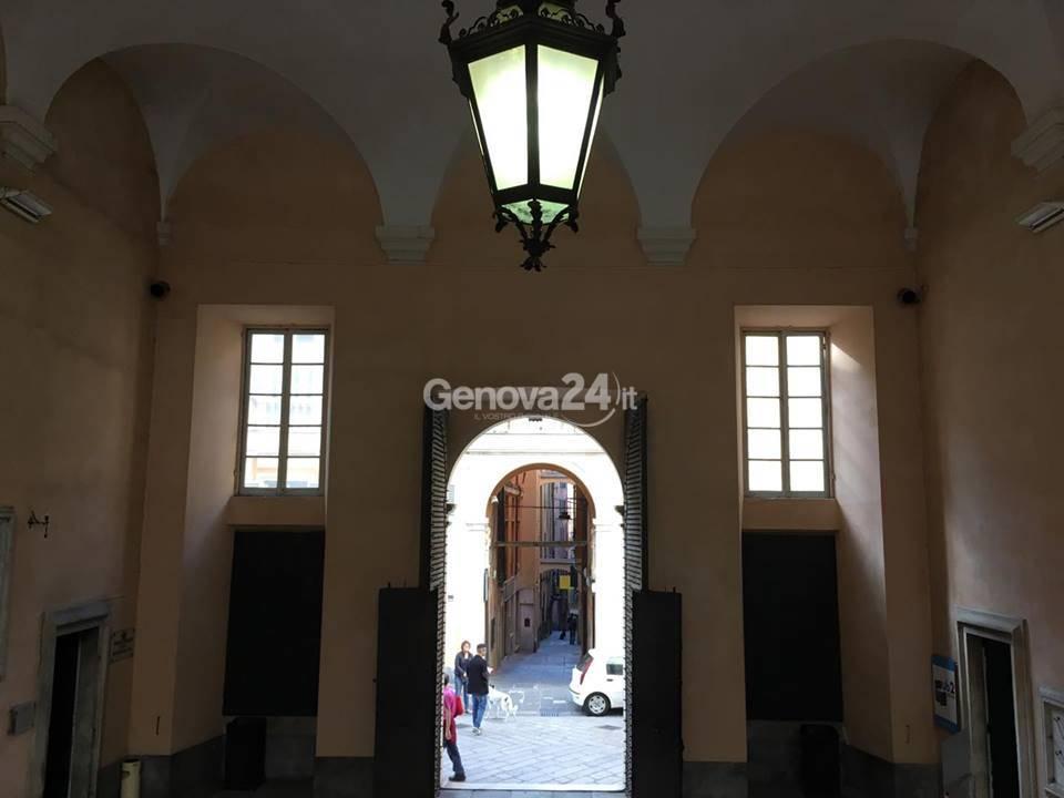 luci palazzo tursi