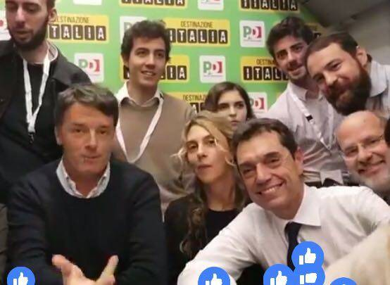 Matteo Renzi nel savonese per