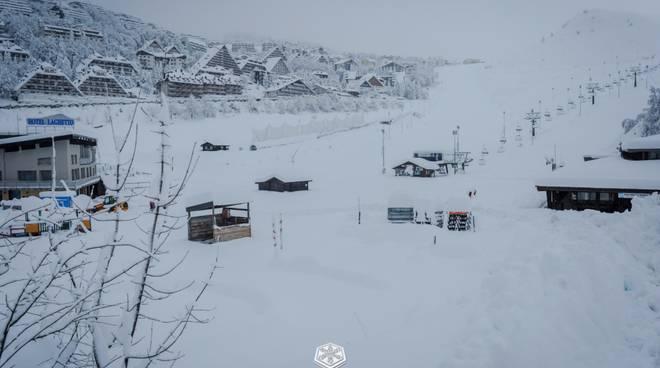 Nevicata del 6 novembre a Prato Nevoso