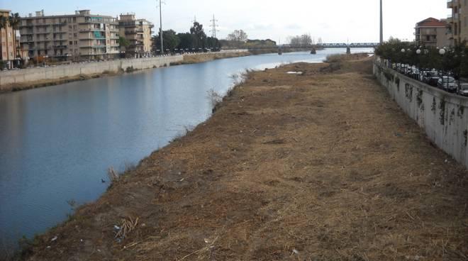 Pulizia fiume Centa fine lavori