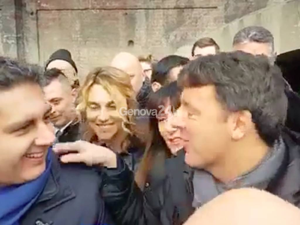 Renzi a Genova novembre 2017