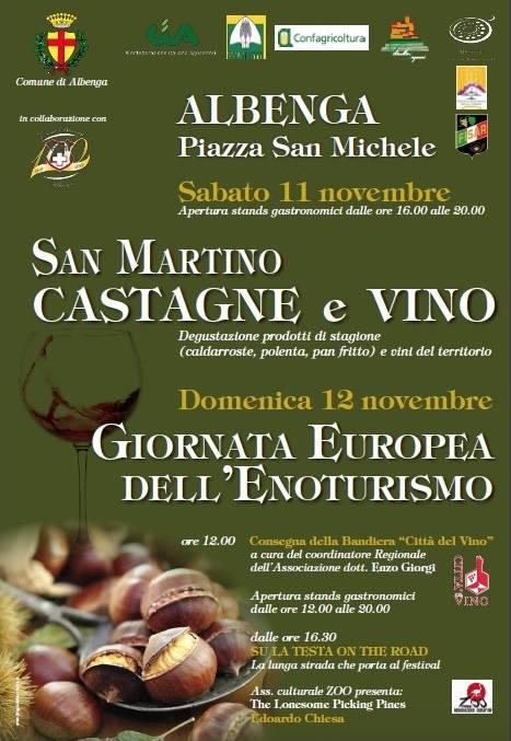 San Martino Castagne e Vino Albenga