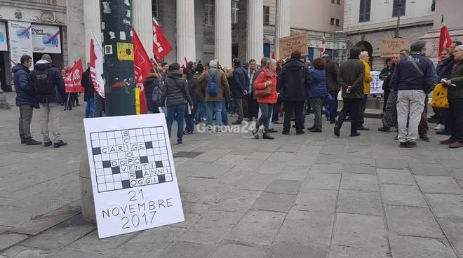sciopero carige