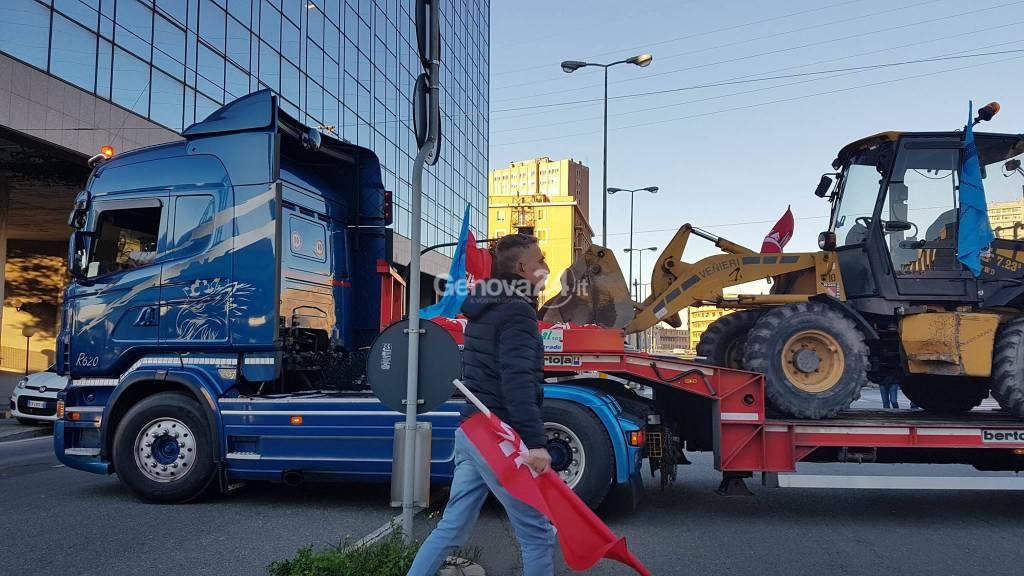 sciopero edili genova ovest