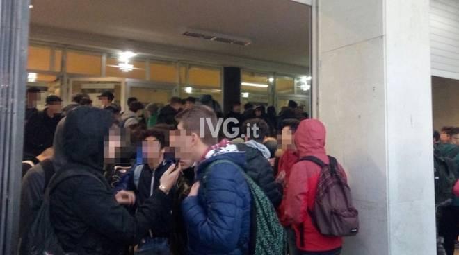 studenti itis blocco riscaldamento