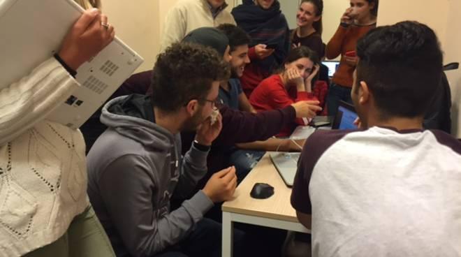 Studenti università Genova ad Albenga