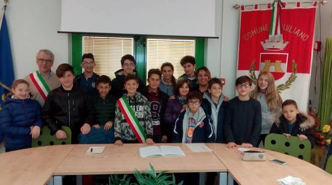 Consiglio Comunale Ragazzi Quiliano 2017