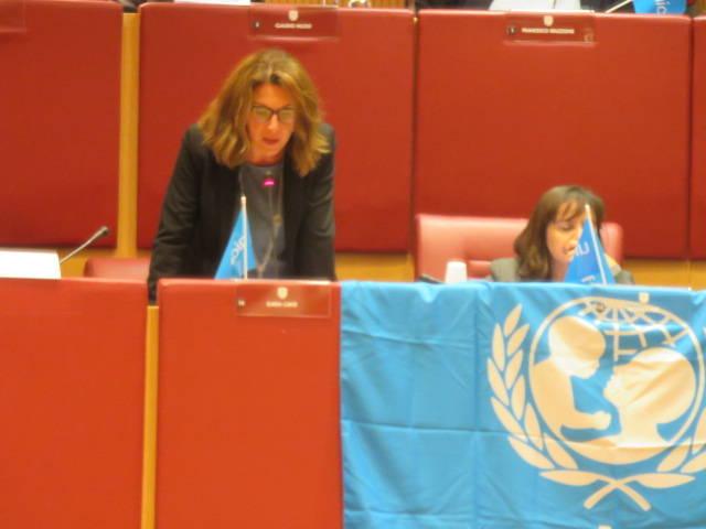 Giornata Diritti Infanzia Ilaria Cavo