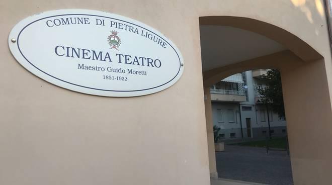 Pietra Ligure Cinema Teatro Moretti
