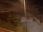 A Vado Ligure crolla in mare un pezzo di passeggiata
