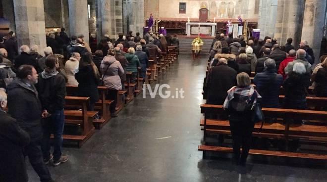 Albenga, il funerale di Cristiano Catalisano