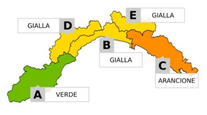 Allerta meteo in Campania dalla mezzanotte del 26 dicembre