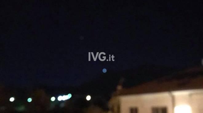 """Avvistato un """"oggetto non identificato"""" in cielo tra Borghetto e Toirano"""