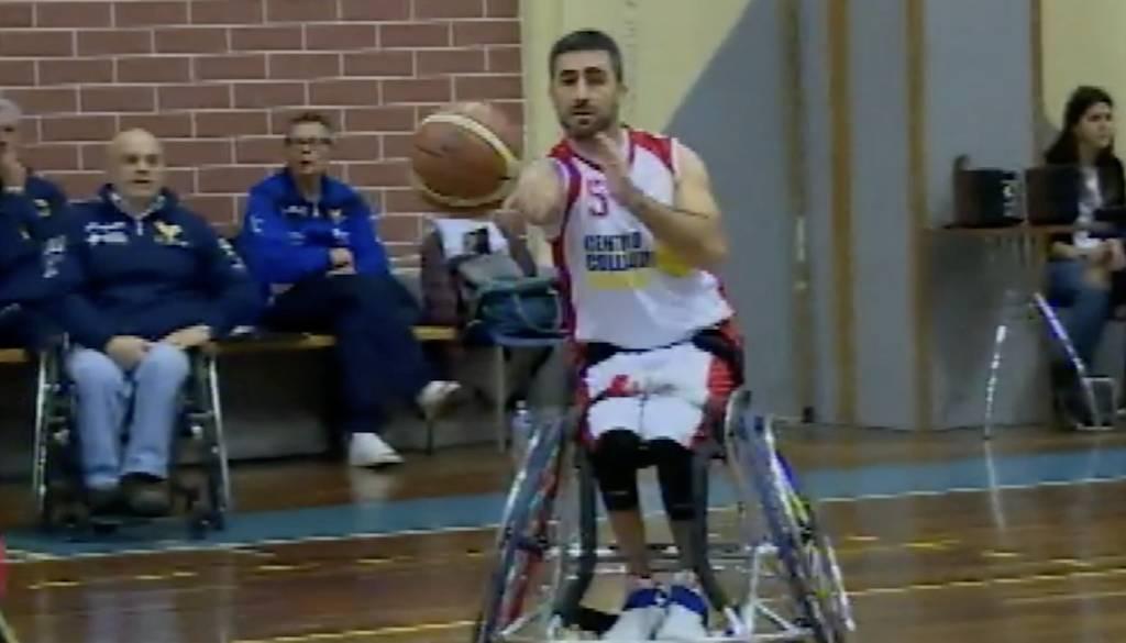 B Basket in carrozzina