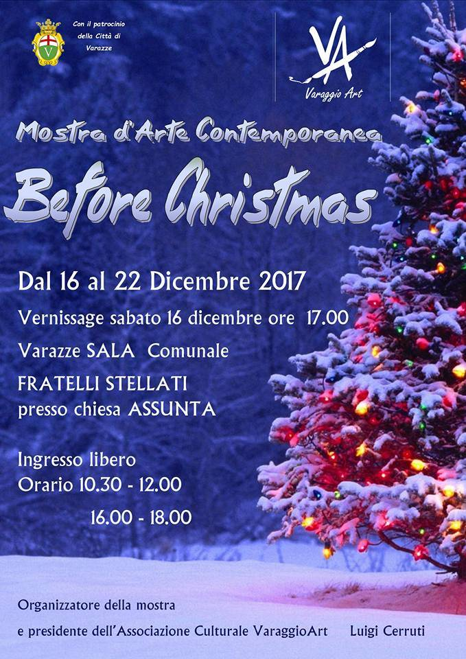 Before Christmas mostra