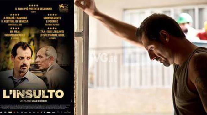 Nel week-end al NuovoFilmStudio di Savona: il film L\'insulto (L\'Insulte)