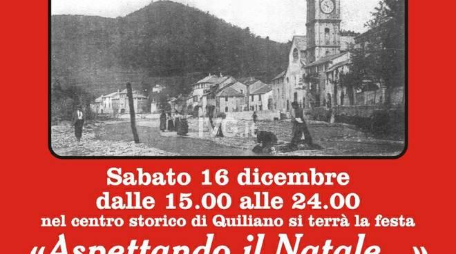 """Sabato a Quiliano: \""""Aspettando il Natale\"""""""
