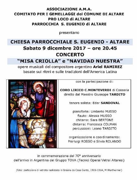 Concerto Misa criolla e Navidad Nuestra