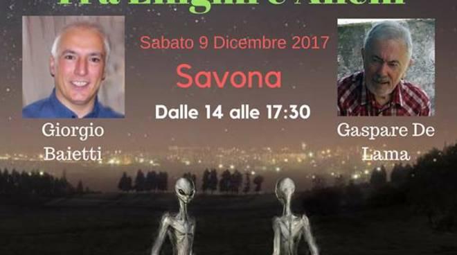 Conferenza Tra enigmi e misteri alieni Savona