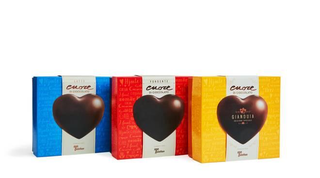 cuore cioccolato telethon