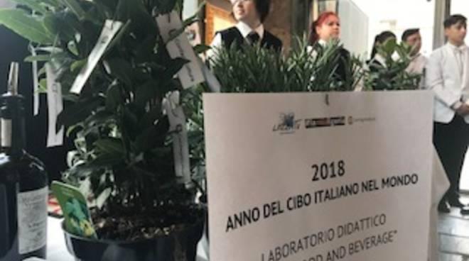 """Il Centro Studi dell'alberghiero di Alassio e Confagricoltura per """"2018 anno del cibo italiano nel mondo"""""""
