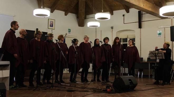 """Il concerto del """"Double Trust Choir"""" ad Andora"""