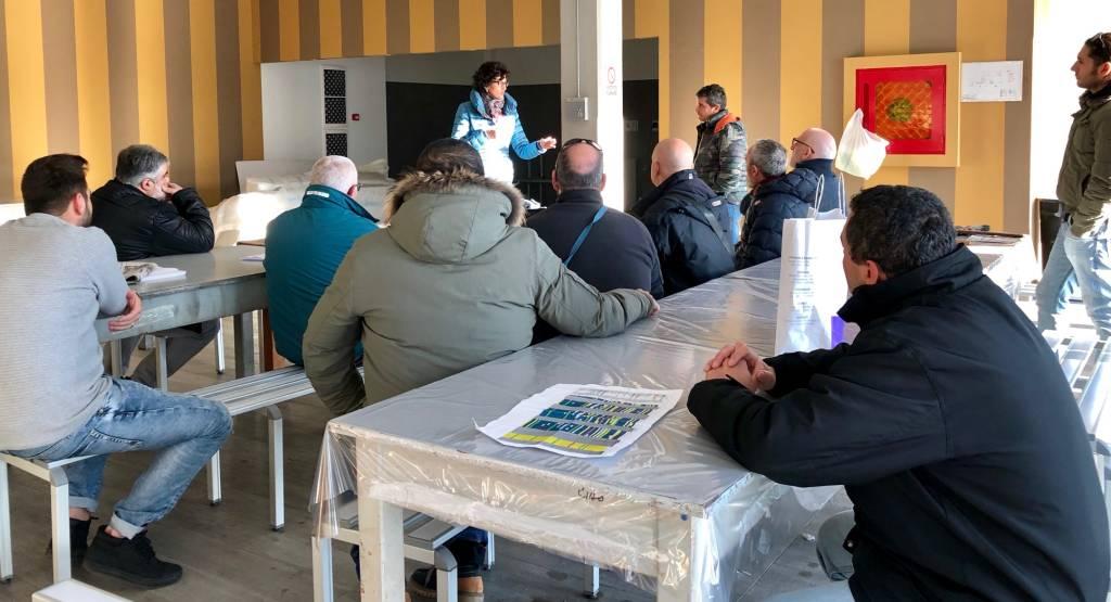 Il sindaco Caprioglio incontra i lavoratori di Mondomarine