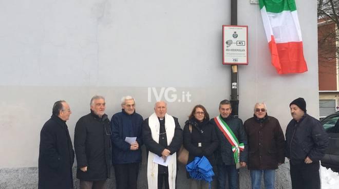 inaugurazione piazza Canata Carcare