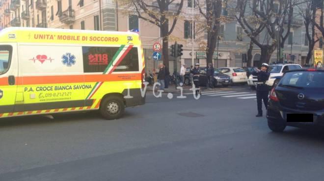 incidente savona corso mazzini