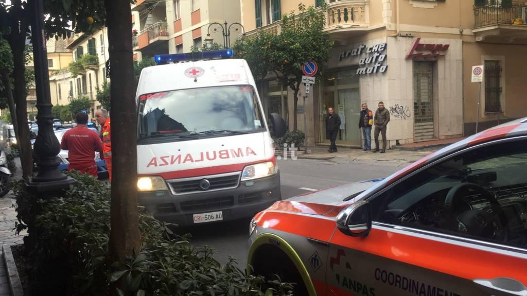 Incidente stradale ad Alassio