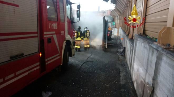 intervento vigili del fuoco a26 autostrada