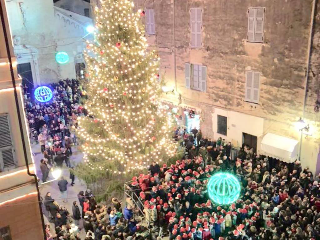 L'albero di Natale di Albenga