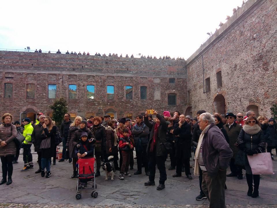 La cerimonia del Confuoco di Savona