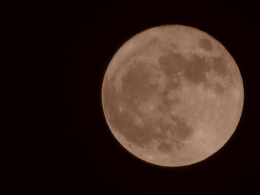 La superluna del 3 dicembre 2017