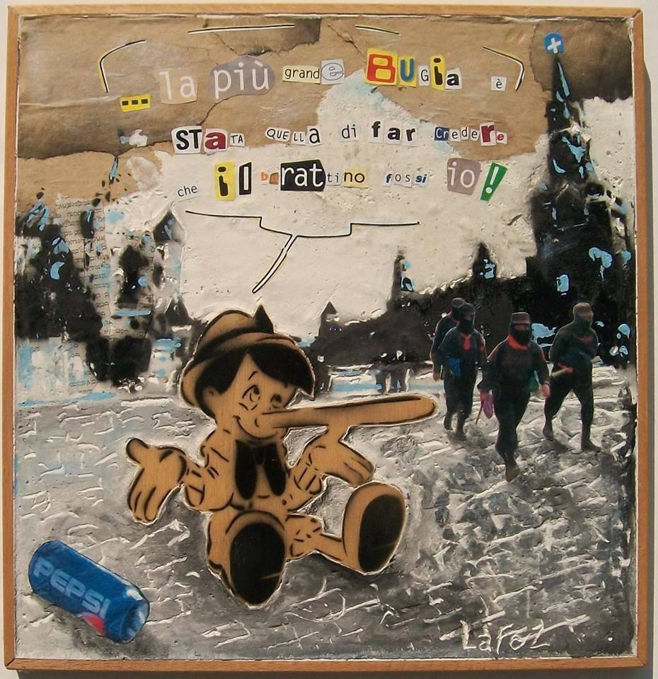 Laforz Pop Art mostra Roberto Lafornara