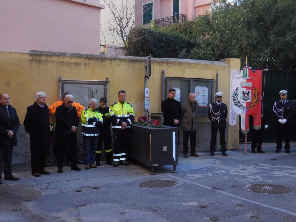 Laigueglia ricorda il carabiniere Leandro Veri