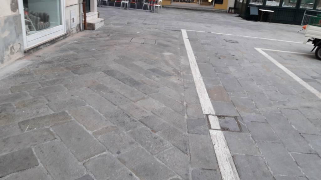 Mareggiata Alassio pulizia passeggiata e centro