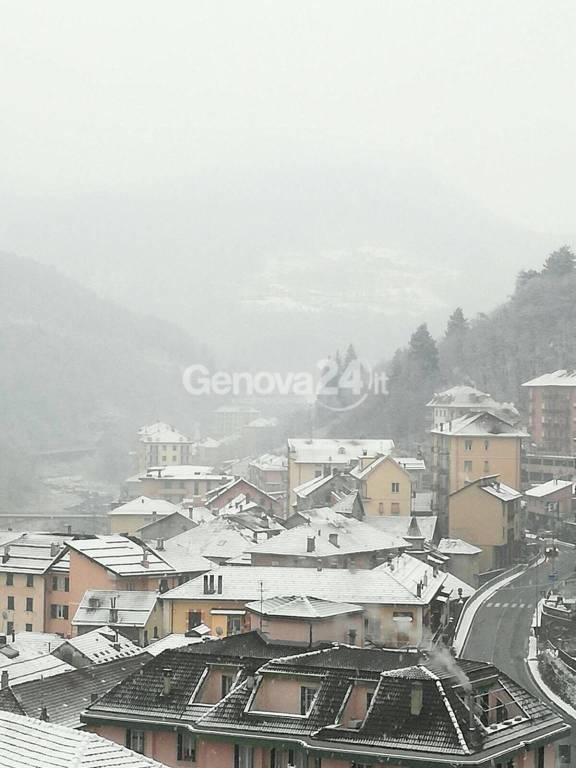Neve a Genova 1 dicembre