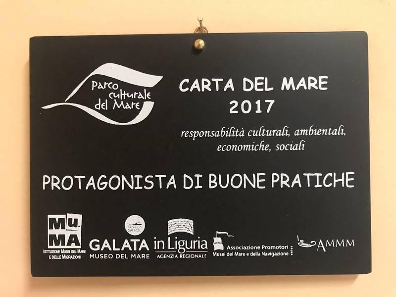 Premi carta del mare 2017 cerimonia