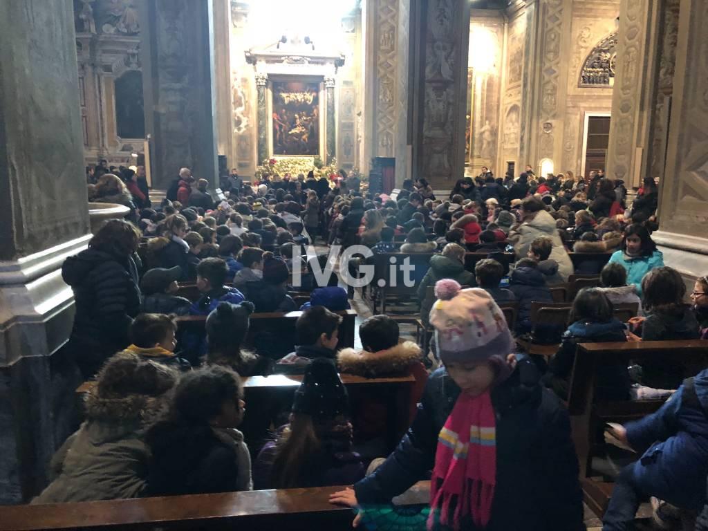 Presepe multietnico in Duomo