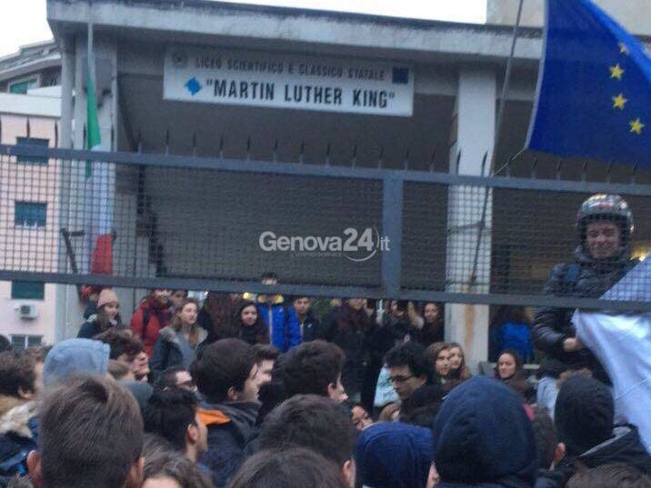 protesta studenti king