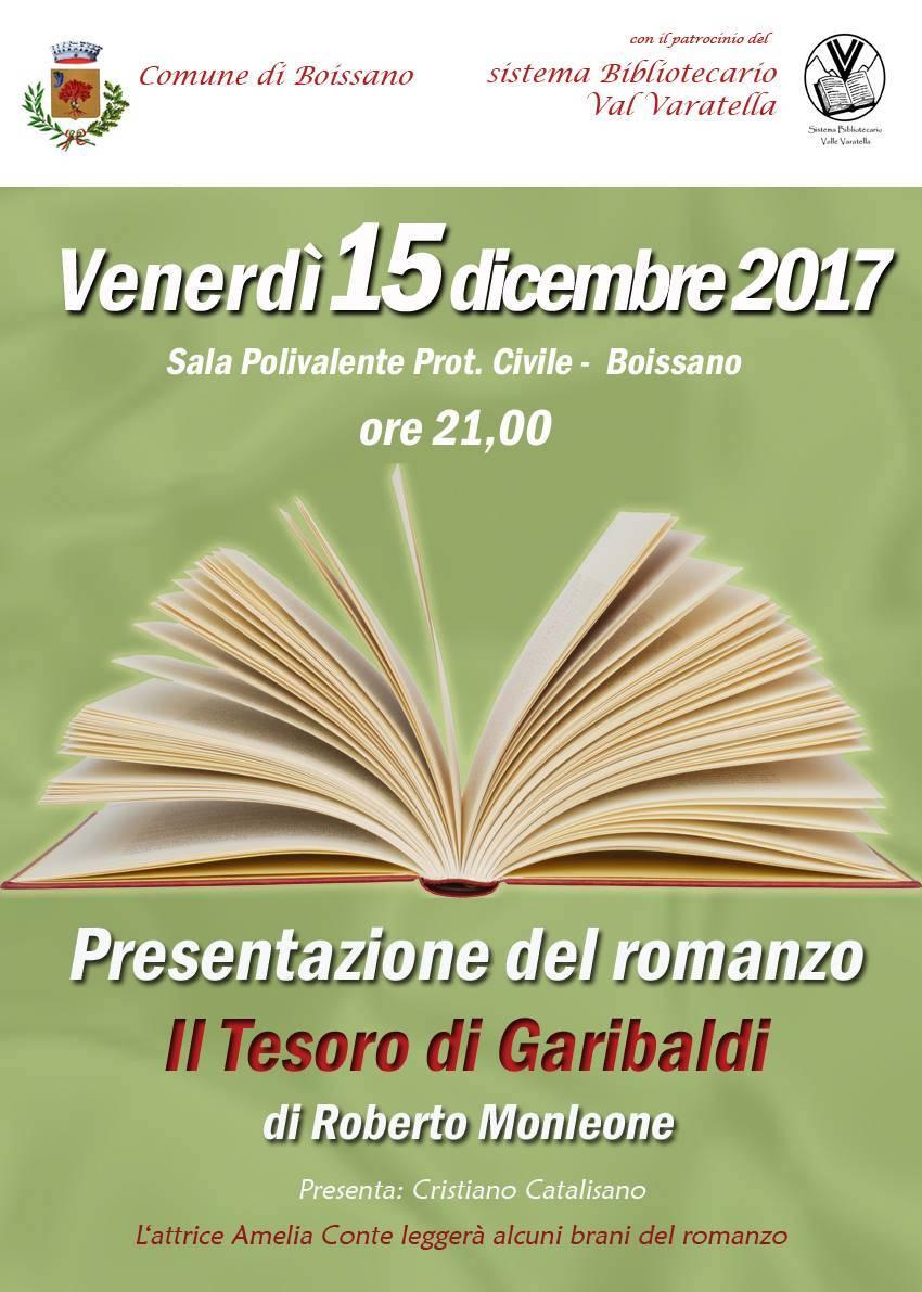 Roberto Monleone Il Tesoro di Garibaldi