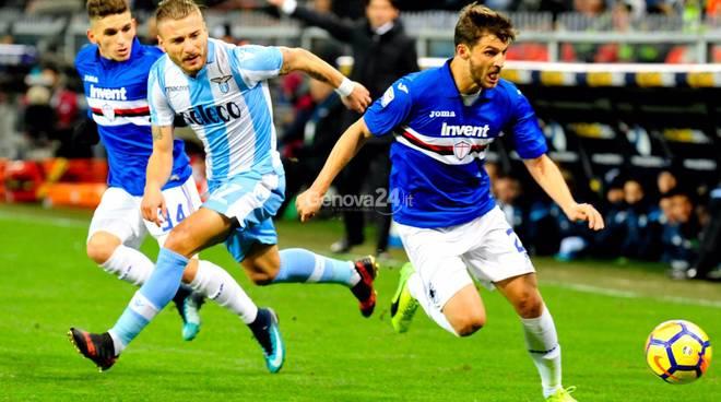 Sampdoria Vs Lazio Serie A